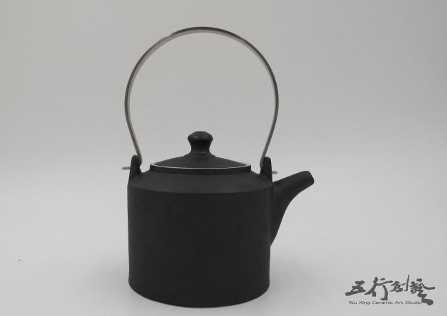 提把黑茶壺(1) 1