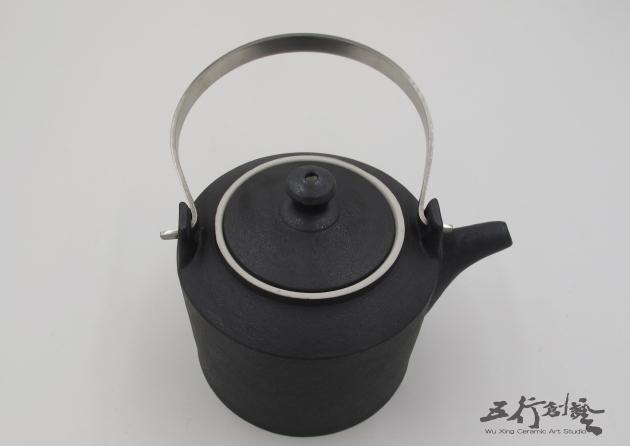 提把黑茶壺(1) 4