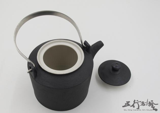提把黑茶壺(1) 2