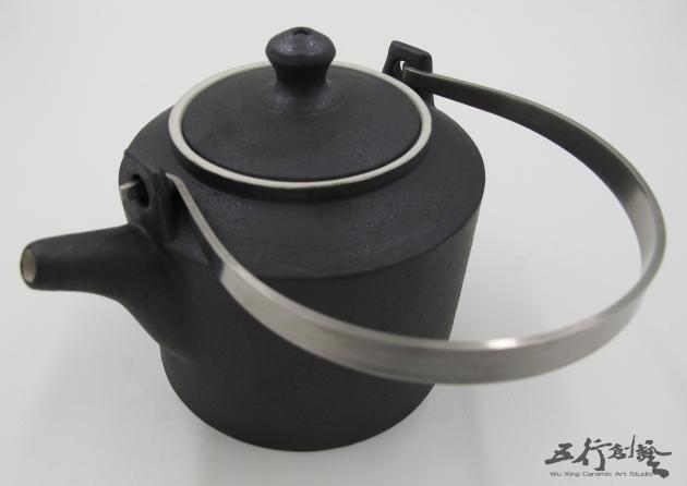 提把黑茶壺(1) 3