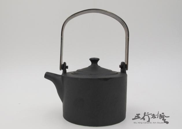 提把黑茶壺(2) 3