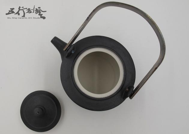 提把黑茶壺(2) 2