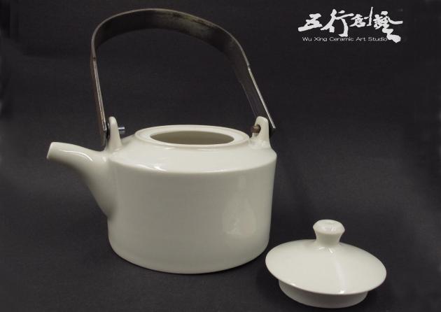提把白茶壺(1) 3